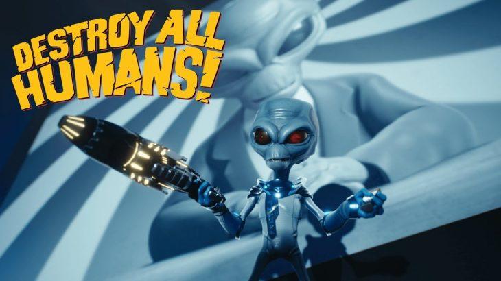 【Destroy All Humans!リメイク】名作が帰ってくる!エイリアンとなって地球を侵略せよ!